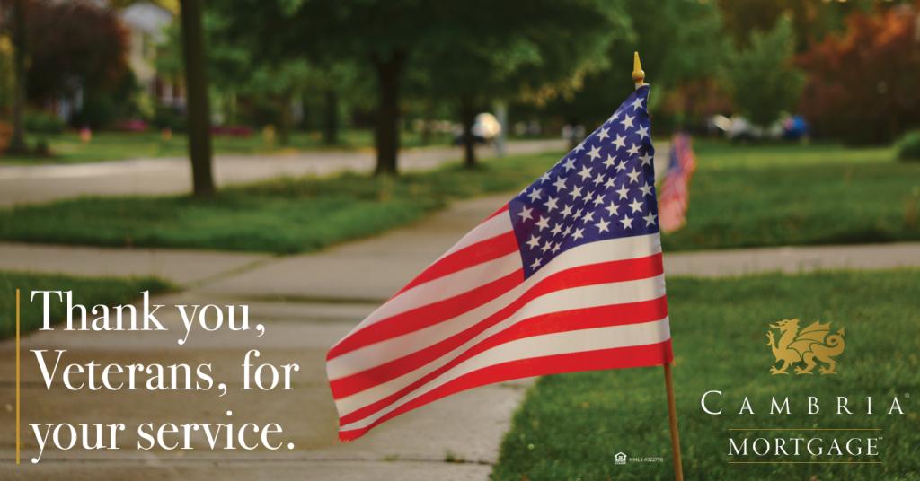 VA Lender Veterans Day